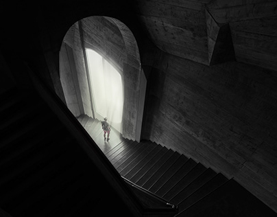 Anthroposophic architecture in Switzerland.