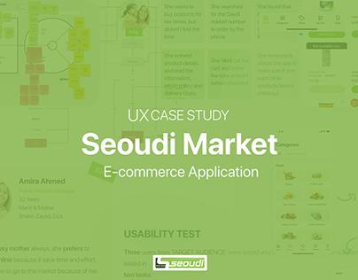 UX Case Study   Seoudi Market App