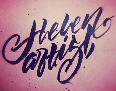 Lettering/Sketching