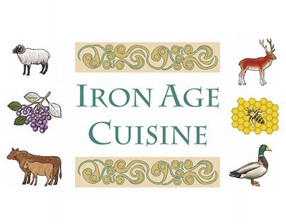 Iron Age Cuisine illustrations