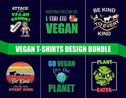 Vegan T-Shirts - Vegetarian T-Shirts Design