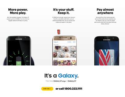 Sprint Landing pages