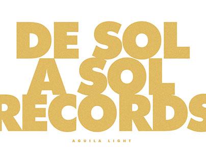 De Sol a Sol Records - Cerveza Aguila