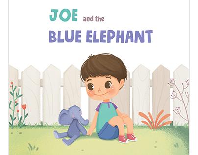 Joe and the Blue elephant - children's book