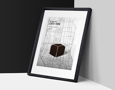 The New York Earth Room Poster Series