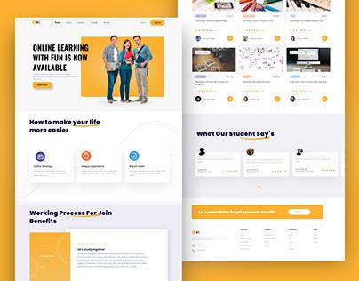 Best Online Learning Platform UI Design
