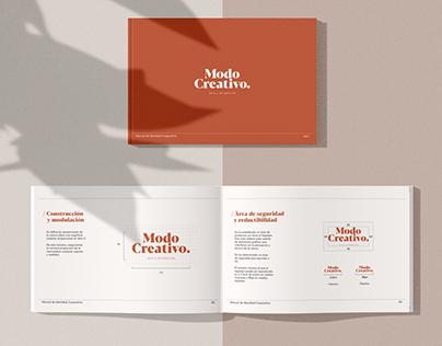 Manual de Identidad / Modo Creativo