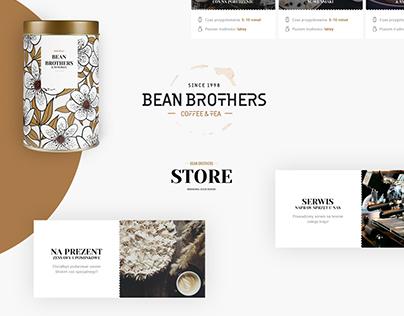 Bean Brothers - UI/UX Design