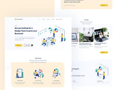 UX Orbit Design | Landing Page