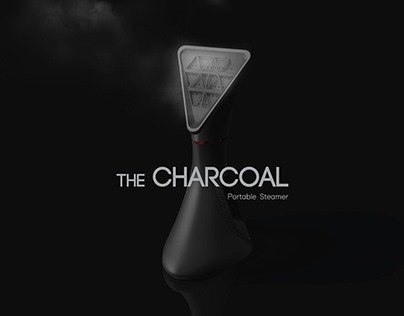 CHARCOAL -Portable Fabric Steamer