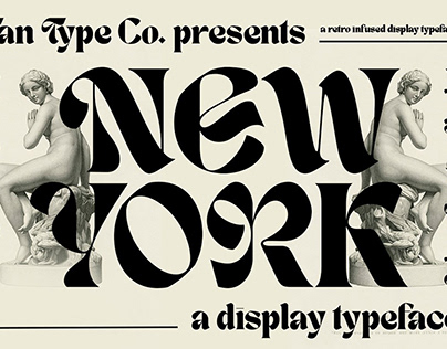 Bold Display Typeface