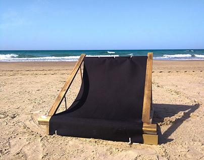 Valerie- folding beach chair