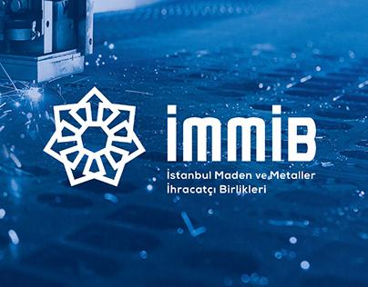 IMMIB logo and identity