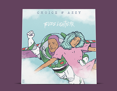 """Buzz Lightear - Choice e Azzy"" - Cover Art"