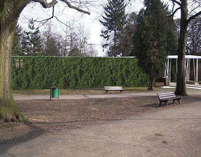 Toaleta publiczna - Wrocław - koncepcja