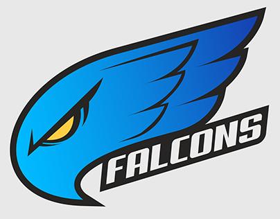 Logo Design - Blue Falcon