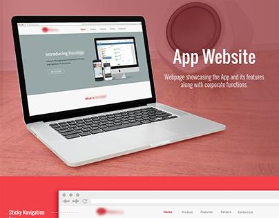 App - webpage