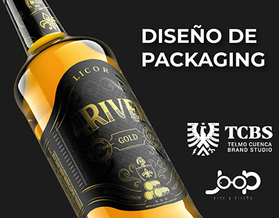 Diseño de packaging / Ron 4River Cuenca