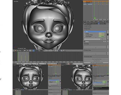 Creación de Personaje Modelado Tridimensional