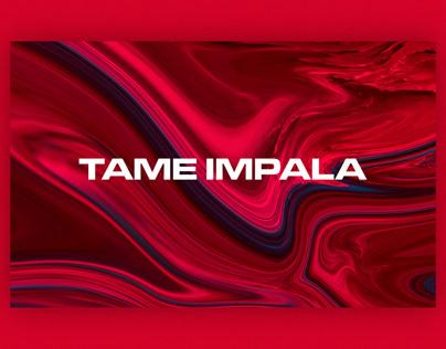 Tame Impala   Web Design Concept