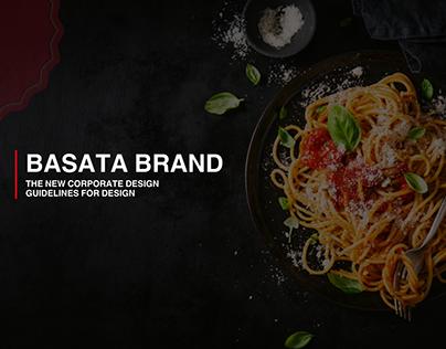 "Basata Brand "" Pasta Logo """