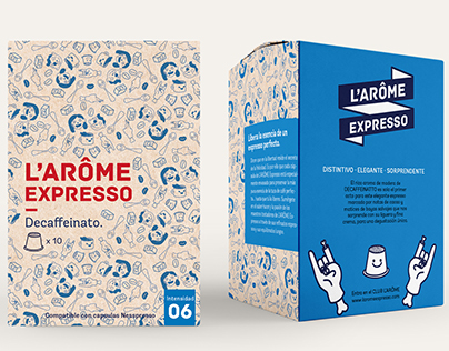 Coffe packaging design