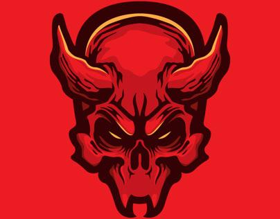 Free Demon Skull
