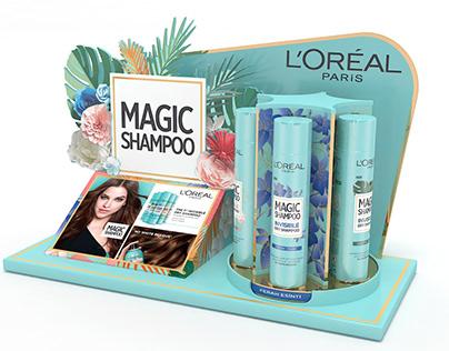 L'oreal Magic Shampoo Display Collection
