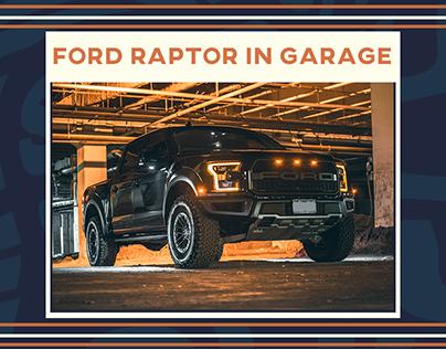 Ford Raptor Photoshoot