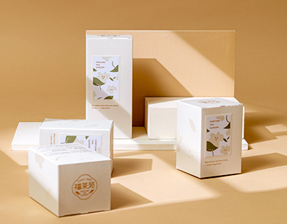 福茶苑 春季茶盒 Spring Tea Package Design
