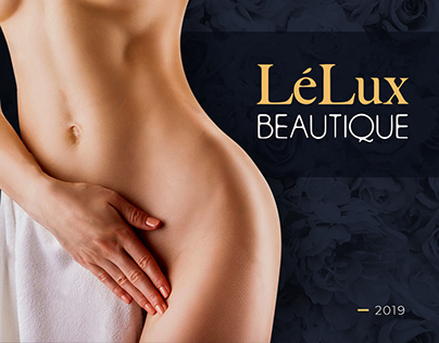 LeLux Beautique — Med Spa Website Design