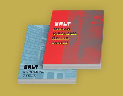 Venue Hire & Membership Booklet // SALT