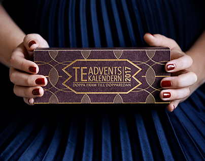 The Tea and Coffe Advent Calendar 2017   Packaging
