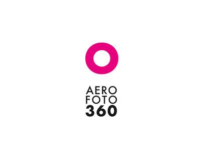 Identidad visual corporativa para AEROFOTO360