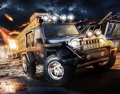 Jeep Wrangler War