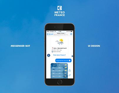 Bot Messenger Météo France