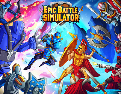 Epic Battle Simulator 2 - Mobile game promotional art