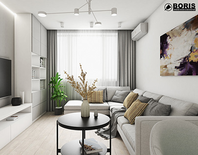 """APARTMENT IN THE RC """"PROLISOK"""" DESIGN PROJECT"""
