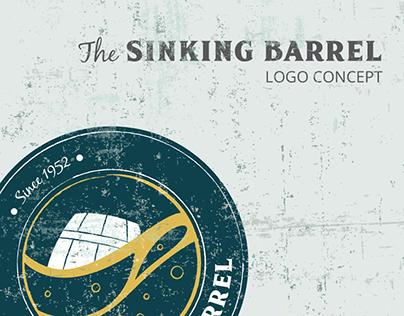 The Sinking Barrel - logo concept