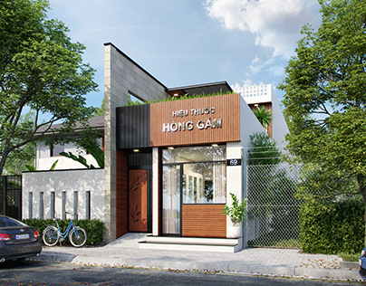 Old Project I Sketchup - 3ds max - Vray - Photoshop on Behance