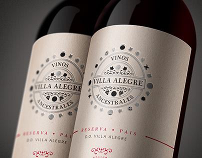 """Vino corporativo Proyecto """"Vinos Ancestrales"""""""