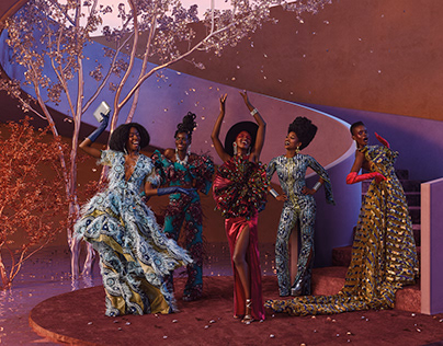 Vlisco campaign worldwide shot by Marta Musial