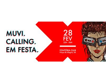MUVI Lisboa // poster, party