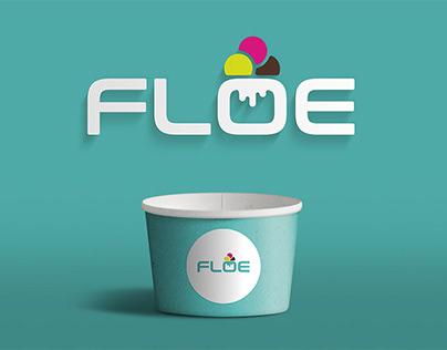 Logo Design for Floe Dessert Parlor, Dubai