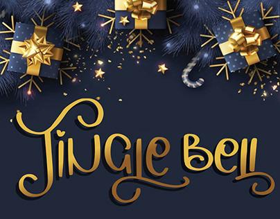 jingle bellchritmas seasonal font