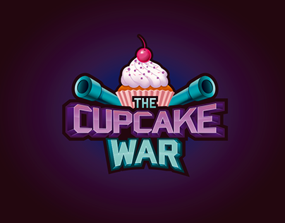 THE CUPCAKE WAR LOGO