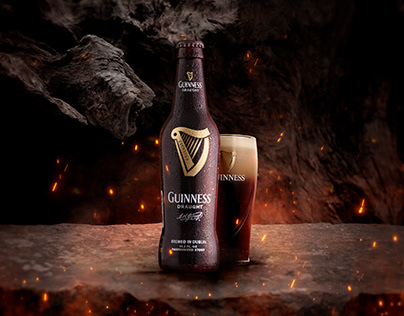 Guinness Draught - Retouch