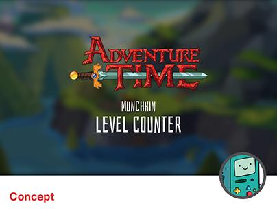Munchkin level counter - Adventure Time theme