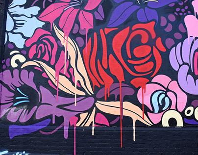 Shoreditch Art Wall