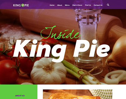 King Pie Website